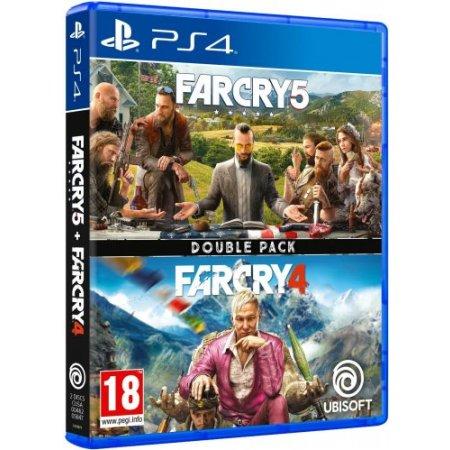 Ubisoft Gioco adatto modello ps 4 - Ps4 Compilation Far Cry 4 + Far Cry 5