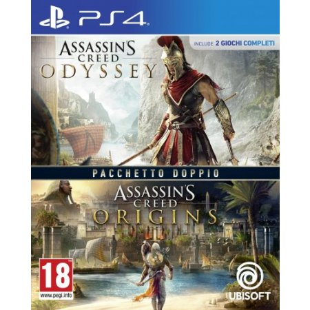 Ubisoft Gioco adatto modello ps 4 - Ps4 Assassin's Creed Origins + Odyssey
