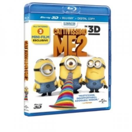 UNIVERSAL PICTURES - CATTIVISSIMO ME 2 - BLURAY 3D
