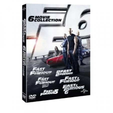 UNIVERSAL PICTURES - DVD FAST&FURIOUS 1-6 BOXSET