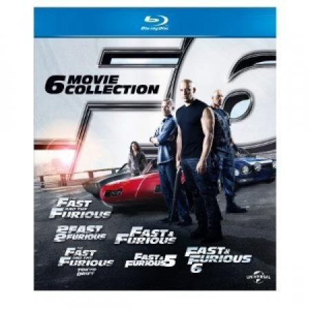 UNIVERSAL PICTURES Cofanetto 6 Blu-Ray Disc Fast&Furious - BLU-RAY FAST&FURIOUS 1-6 BOXSET