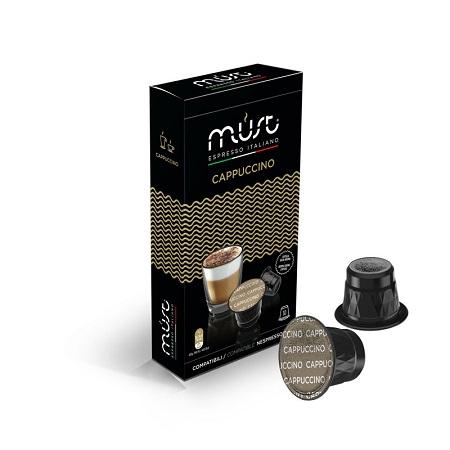 Must Caffe' Cappuccino compatibili Nespresso - Pfccn10-comp-armo