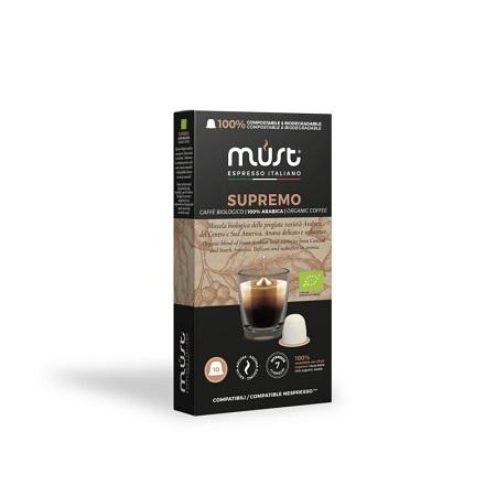 Must Caffe' Caffè biologico Supremo - Pfccn10-comp-sup
