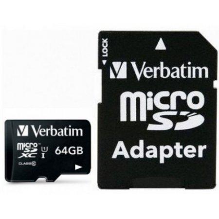 Verbatim Micro sdxc - Idata Msdhc-64gba 44084