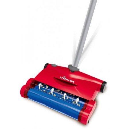 Vileda Scopa ricaricabile 240 volt - 153035 Rosso
