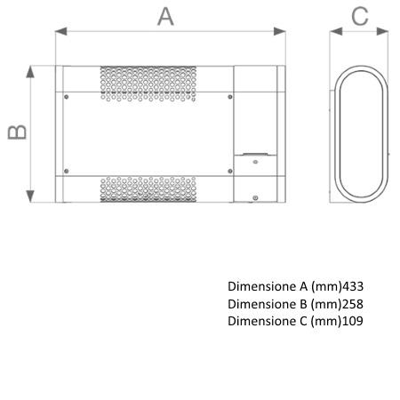 Vortice Finiture in acciaio verniciato con vernice antigraffio grigia - Microrapid 600-v0 - 70602