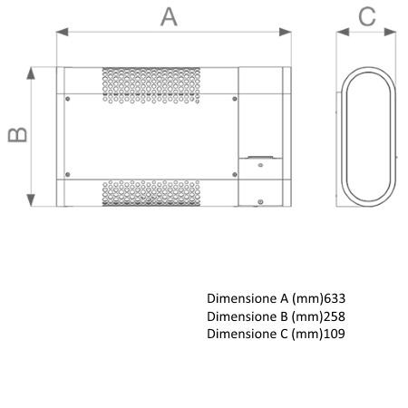 Vortice Finiture in acciaio verniciato con vernice antigraffio grigia - Microrapid 2000-v0 - 70632