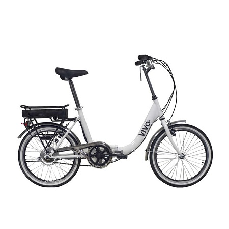 VIVO FOLD BIKE  WHITE