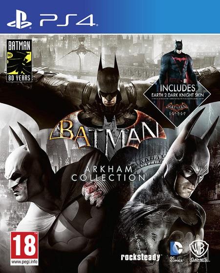 Warner Bros Batman Arkham Collection Batman Arkham Collection - 5051891174917