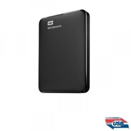 WESTERN DIGITAL Hard Disk Esterno da 1 TB - ELEMENTS 3.0 1TB