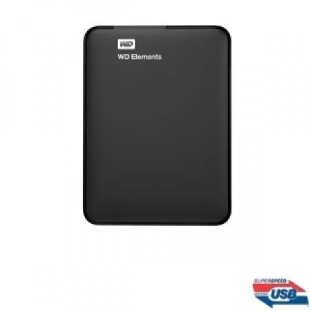 WESTERN DIGITAL - ELEMENTS 2TB - WDBU6Y0020BBK