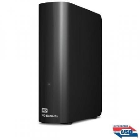 WESTERN DIGITAL - ELEMENTS 2TB 3.0 BLACK WDBWLG0020HB
