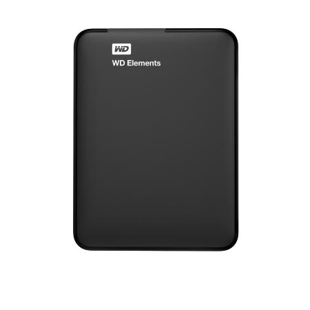 Western Digital Hard Disk Esterno da 1.5 TB - Elements 1,5 TB Black Wdbu6y0015bbk
