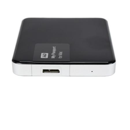 Western Digital - MY PASSPORT MAC 1TB Black WDBJBS0010BSL
