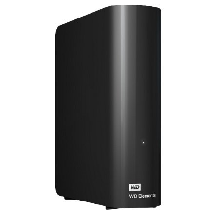 Western Digital HDD Esterno - ELEMENTS 4TB - WDBWLG0040HBK