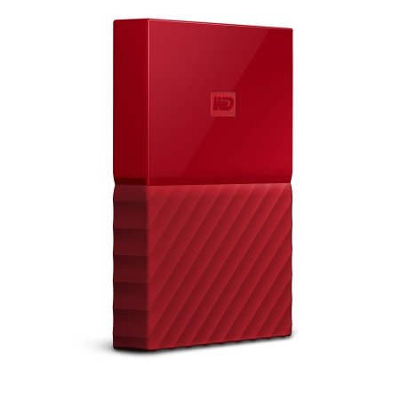 Western Digital - My Passport 1TB Red