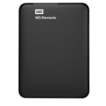 Western Digital Hard Disk Esterno da 1 TB - Elements 1TB + cover