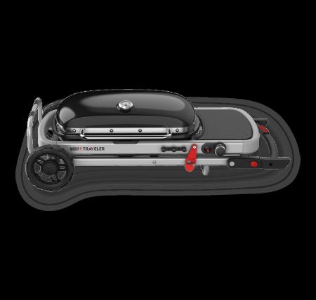Weber Barbecue a gas - Traveler portatile