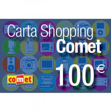 CARTA COMET Carta shopping da 100 euro - CARTA SHOPPING 100
