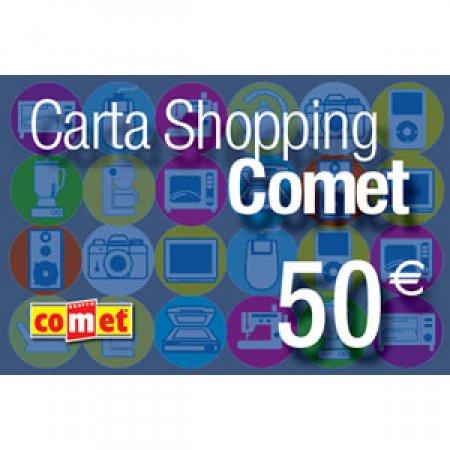 CARTA COMET Carta shopping da 50 euro - CARTA SHOPPING 50