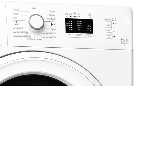 Whirlpool Lavasciuga a carica frontale - Wwde 8614 Washer Dryer Wp