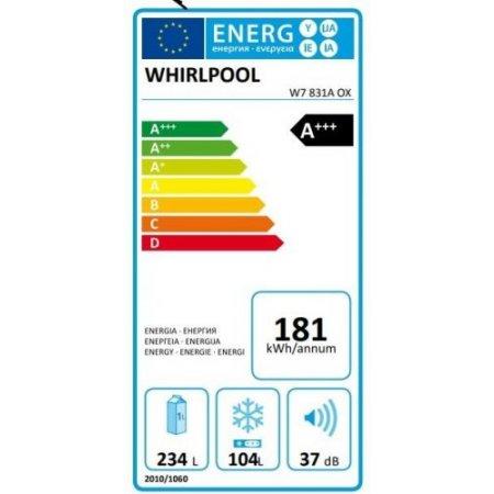 Whirlpool Frigo combinato 2 porte no frost - W7831aox