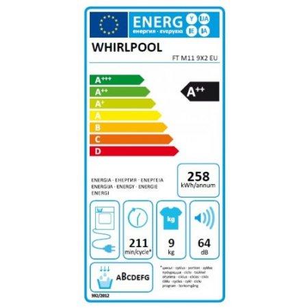 Whirlpool Asciugatrice a condensazione - Ftm119x2eu