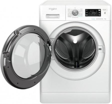Whirlpool lavatrice carica frontale 9 kg. - Ffb R8529 Bsv It