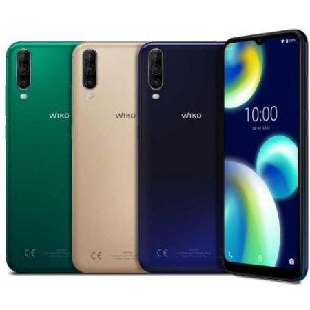 Wiko Smartphone 32 gb ram 2 gb. quadband - View 4 Lite Blu