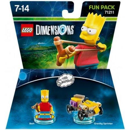 Warner Bros - 1000546255 Lego The Simpsons Bart