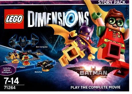 Warner Bros Game Lego Dimensions Story Pack Batman Movie - 1000618292