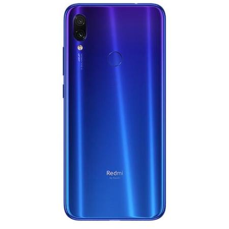 Xiaomi Smartphone 64 gb ram 4 gb quadband - Redmi Note 7 Blue