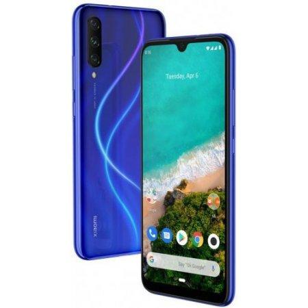 Xiaomi Smartphone 64 gb ram 4 gb. pentaband - Mi A3 64gb Blu