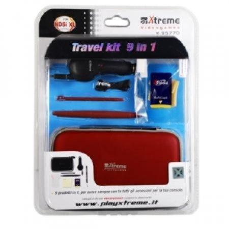 X Kit di 9 accessori essenziali per console Nintendo DSi XL - TREME     ARIETE INFORMATICA - KIT 9 IN 1 X95770