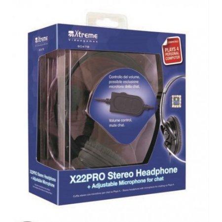 Xtreme Cuffia con filo - 90478 X22 Pro