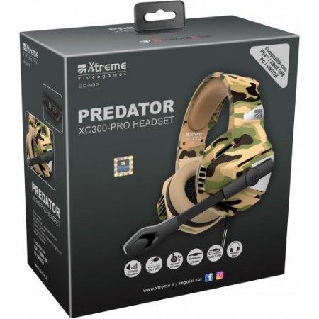 Xtreme Cuffia con filo - Predator Xc300-pro 90483