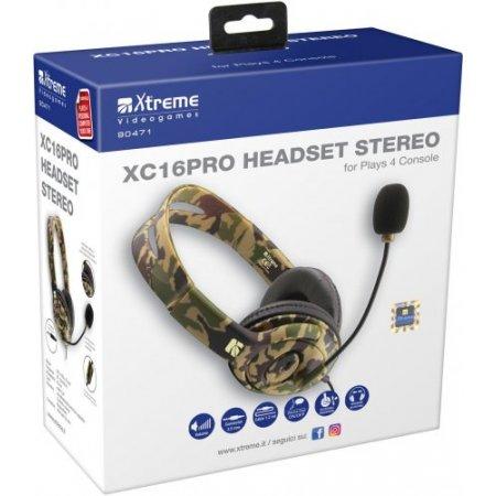 Xtreme Cuffia con filo - Xc16-pro 90471