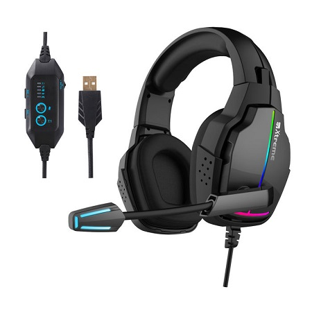 X Tipologia: Headband - Doppio Auricolare - treme  Diamond Line Headset 7.1  con ENC