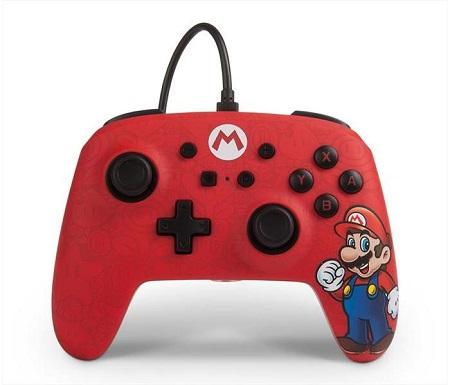 X PowerA Mario - treme - ENWIRED CONTROLLER MARIO SWITCH