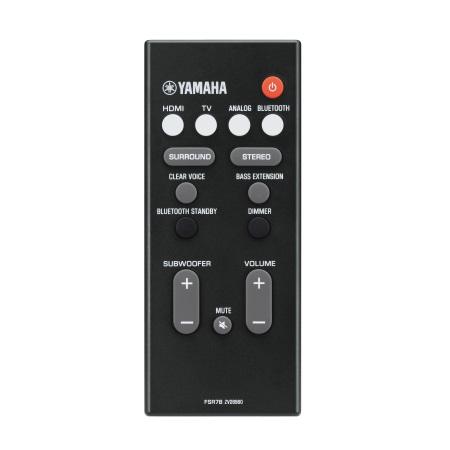 Yamaha Soundbar - Yas-207 Nero