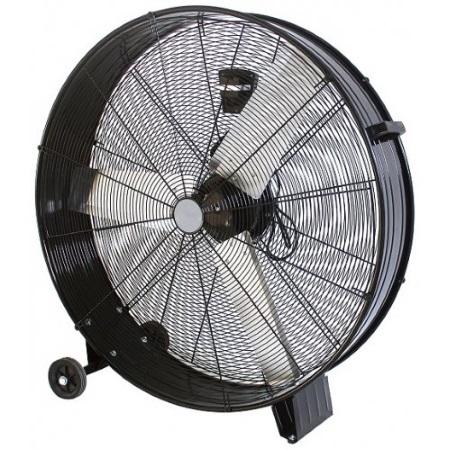 Zephir Ventilatore industriale - Zdm90cm Nero