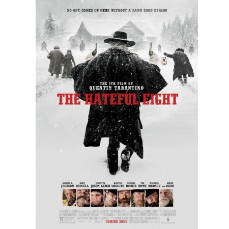 01 Distribution - THE HATEFUL EIGHT DVD